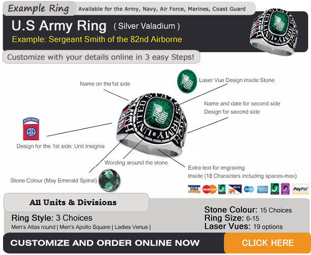 military rings north carolina