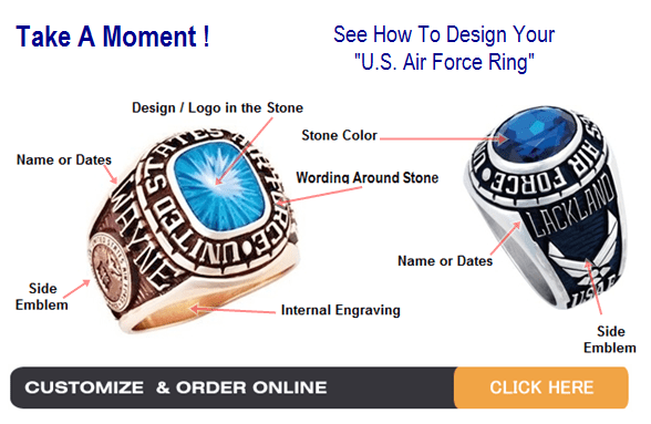 air force rings