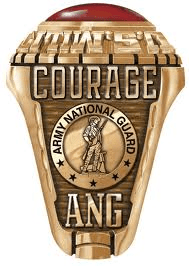 arny national guard rings
