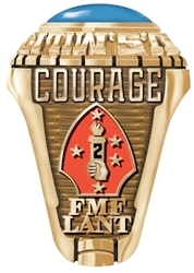 gold marine corps ring