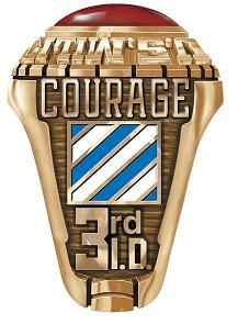 3rd infantry division ring