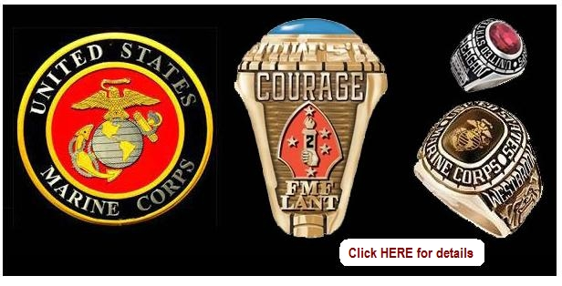 2nd marine division rings