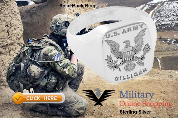 american eagle military rings
