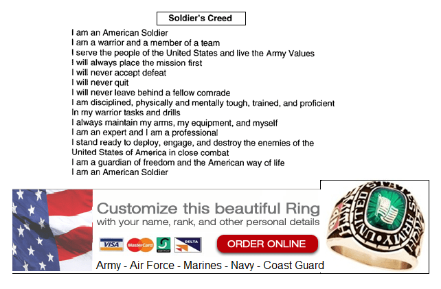 army creed