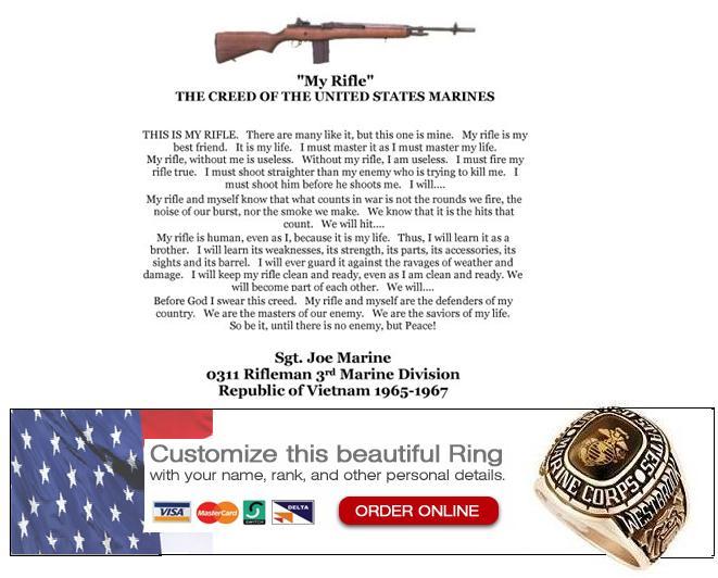 marine creed