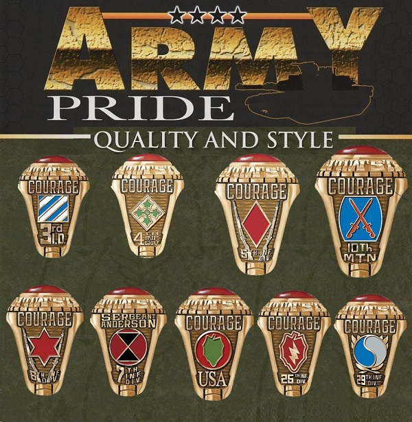 us army infantry rings
