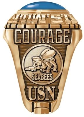 Navy Seabees Navy Seabees Rings Navy Seabees Motto