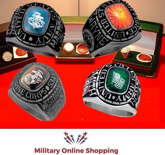 buying military rings in germany